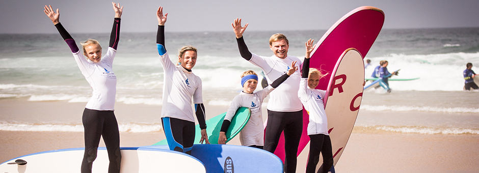 Surf Yoga Family package