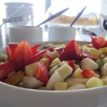 Fruchtsalat Frühstück