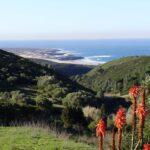 Wandern in der Sintra mit Blick auf den Praia do Guincho