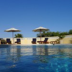 Algarve Villa Pool Loungers
