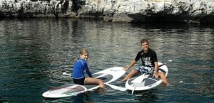 Stand up paddleboarding for kids