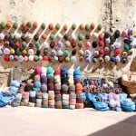 hats sold in medina streets