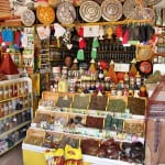 spices shop in medina in essaouira