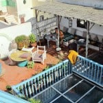 roof terrace essaouira riad atrium closeable