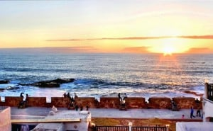 roof terrace essaouira riad sunset view