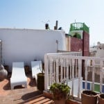 room 6 essaouira riad private rooftop sun deck