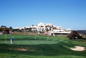 Short Game area of Golf Santo Antonio