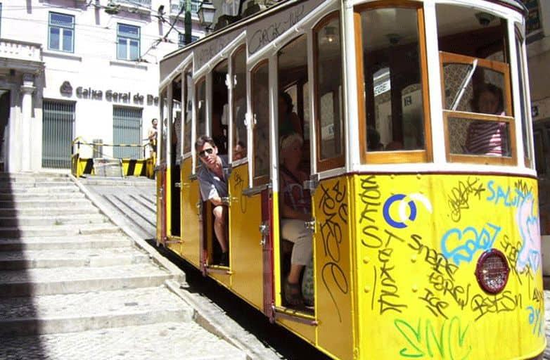 bairo-alto-Steilbahn