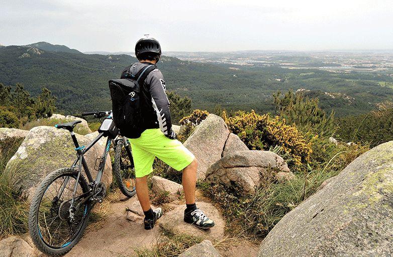 mountain biking & yoga