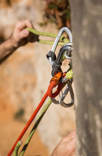 climbing with security first
