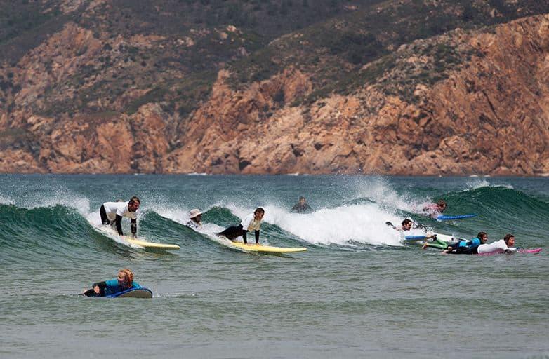 surfing holidays lisbon