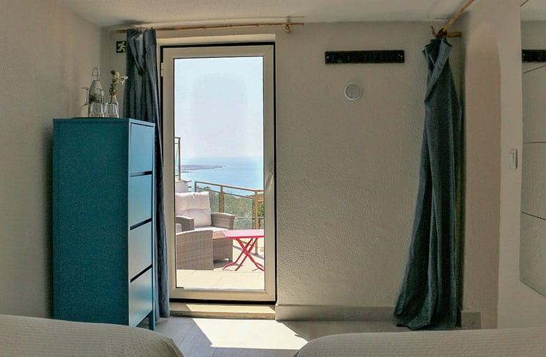 room 5 childrens room terrace view