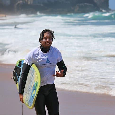 miguel surf instructor